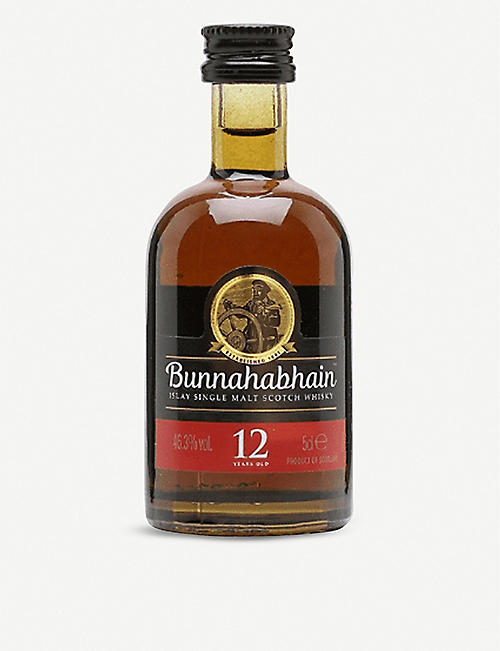 MINI A TURE: Bunnahabhain 12-year-old single malt whisky 50ml