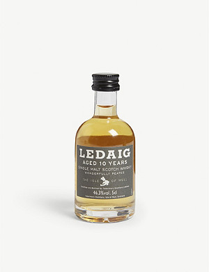 MINI A TURE Tobermory Ledaig 10-year-old single malt Scotch whisky 50ml