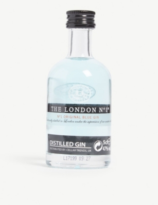 MINI A TURE The London No 1 original blue gin 50ml