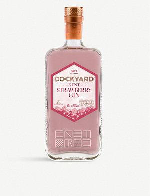 GIN Dockyard strawberry gin 700ml
