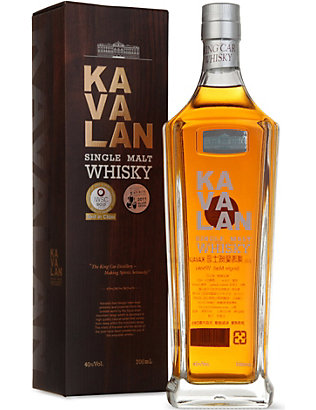 WORLD WHISKEY: Kavalan single malt whisky 700ml