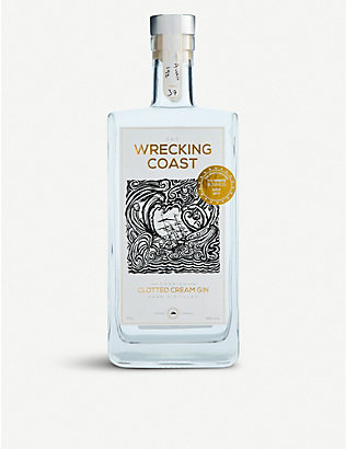 GIN: Wrecking Coast clotted cream gin 700ml