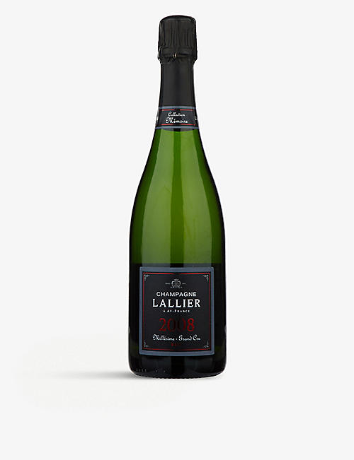 CHAMPAGNE: Lallier Millésime Grand Cru vintage champagne 750ml