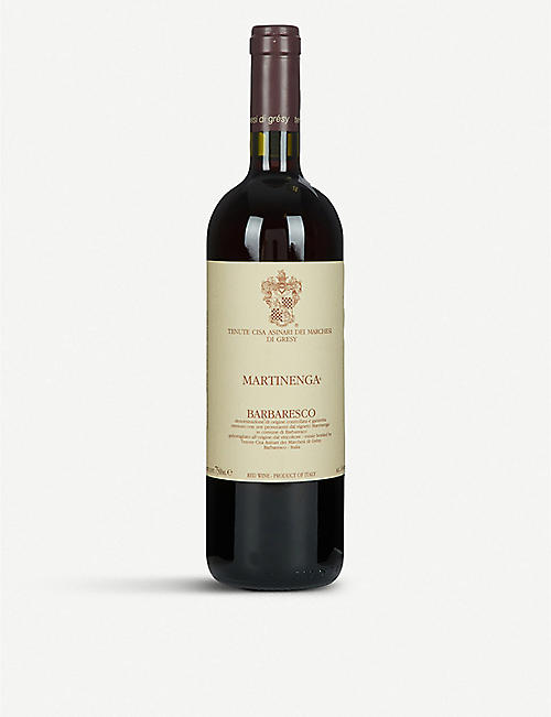 MARCHES DI GRESY: Barbaresco Martinenga nebbiolo 750ml