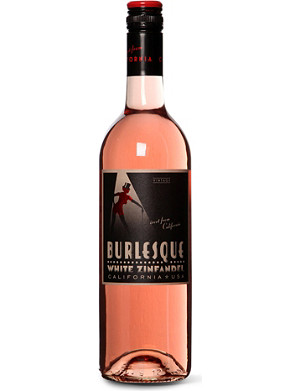 USA White zinfandel rose 750ml