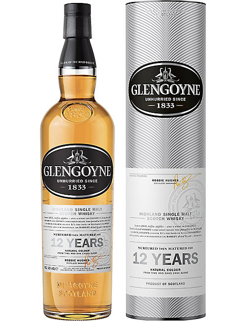 GLENGOYNE: 12-year-old single malt Scotch whisky 700ml