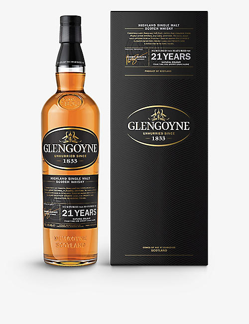GLENGOYNE 21-year-old single malt Scotch whisky 700ml