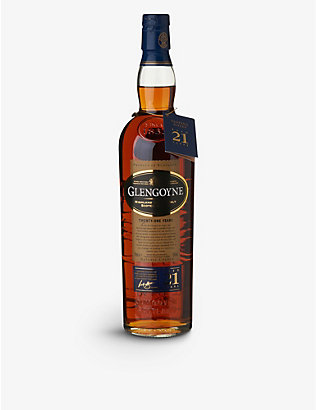 GLENGOYNE: 21-year-old single malt Scotch whisky 700ml