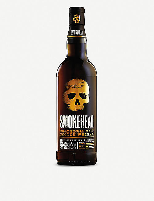 ISLAY: Ian McLeod Smokehead single malt Scotch whisky 700ml