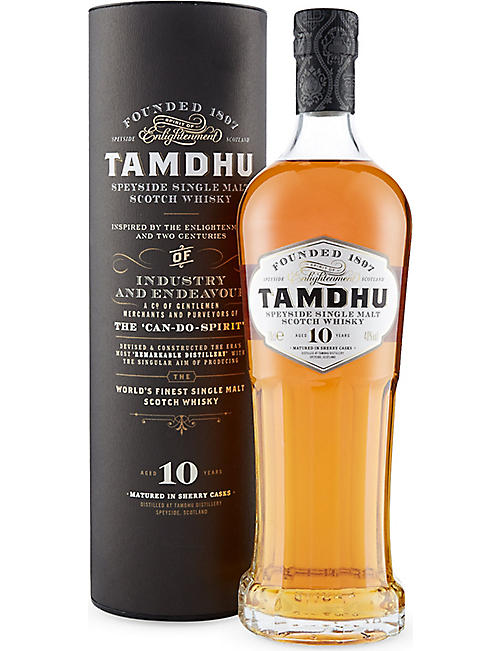 TAMDHU Tamdhu 10-year-old single malt Scotch whisky 700ml