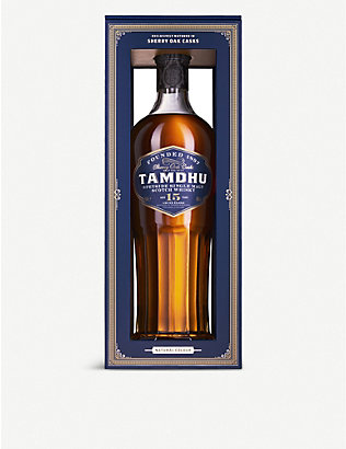 WHISKY AND BOURBON: Tamdhu 15-year-old single malt Scotch whisky 750ml