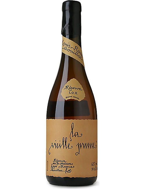 BRANDY: Louis Roque La Vieille Prune brandy 700ml