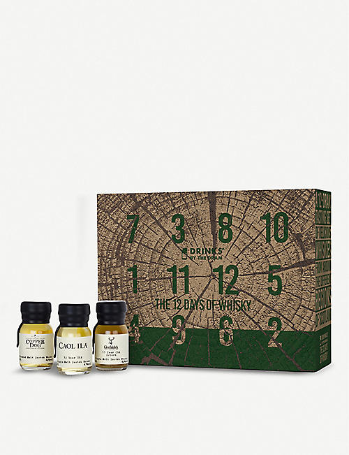 CHRISTMAS: Drinks By The Dram 12 Days of whisky Advent calendar 12 x 30ml
