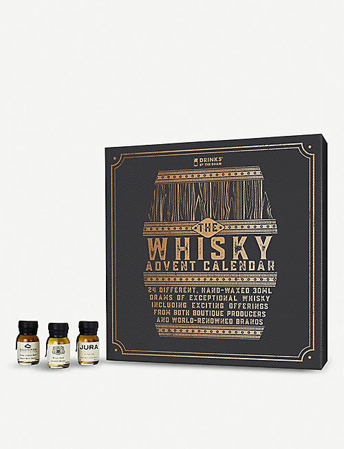 DRINKS BY THE DRAM: Drinks By The Dram Whisky Advent calendar 24 x 30ml