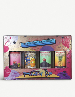 GIN Fruity-y gin gift set of four