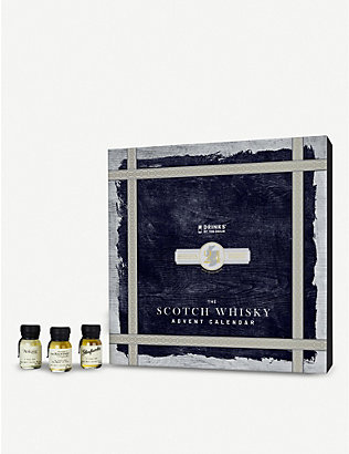 CHRISTMAS: Drinks By The Dram Scotch whisky Advent calendar 24 x 30ml