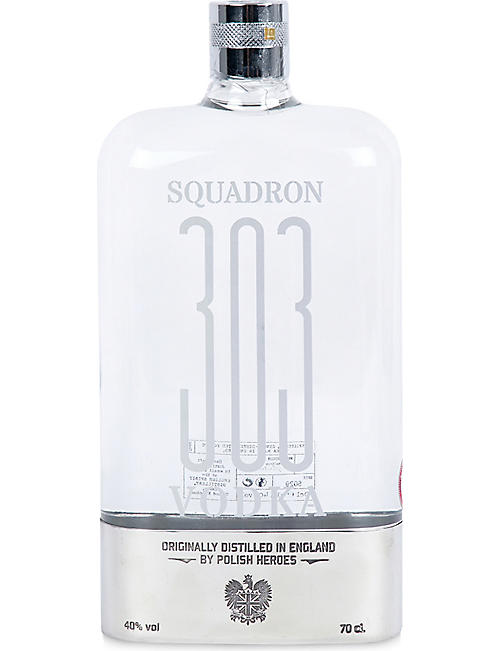 VODKA Squadron 303 Vodka Officer Box 700ml