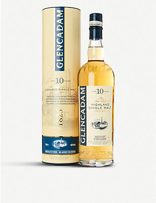 HIGHLAND: Glencadam 10-year-old single malt Scotch whisky 700ml