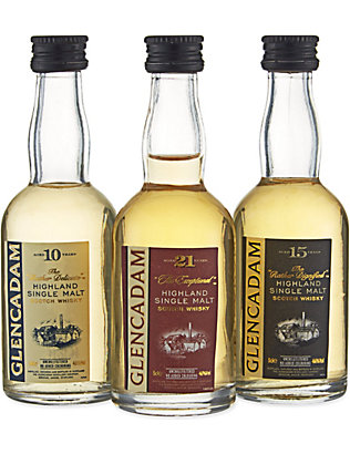 HIGHLAND: Single malt scotch whisky triple pack 3x50ml