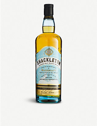 HIGHLAND: Shackleton blended malt Scotch whisky 700ml