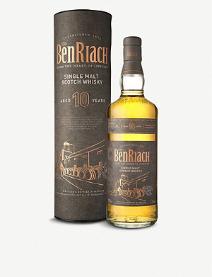 WORLD WHISKEY BenRiach 10 year single malt scotch whiskey 700ml