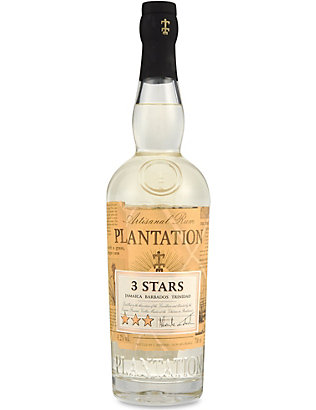 PLANTATION: 3 stars white rum 700ml