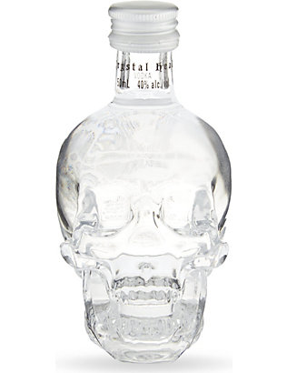 CRYSTAL HEAD VODKA: Crystal head vodka miniature 50ml