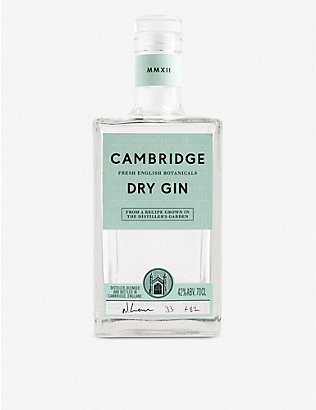 CAMBRIDGE GIN: Dry gin 700ml
