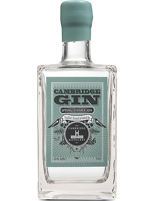 CAMBRIDGE GIN Cambridge Spring/Summer 2014 gin 700ml
