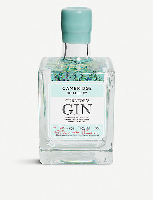 CAMBRIDGE GIN: Cambridge Distillery Curator's gin 500ml