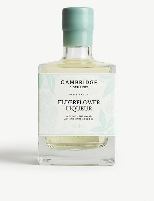 CAMBRIDGE GIN: Cambridge Elderflower gin liqueur 500ml
