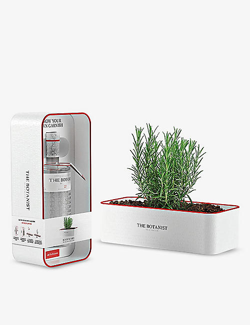 THE BOTANIST: The Botanist gin and herb planter set 700ml