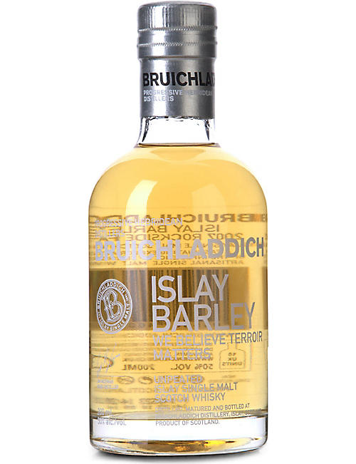 BRUICHLADDICH Islay barley single malt whisky 200ml