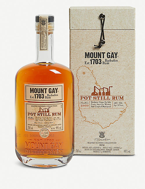 MOUNT GAY Mount Gay pot still rum 700ml