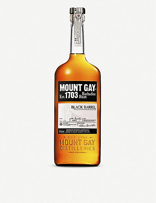 MOUNT GAY: Black Barrel rum 700ml