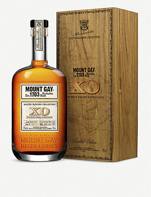 MOUNT GAY: Mount Gay Extra XO Peat Smoke rum 700ml