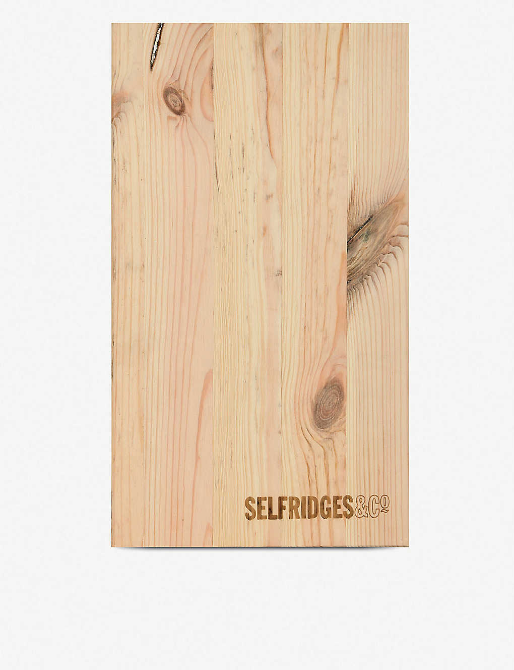 SELFRIDGES SELECTION: Wooden 2 bottle wine box