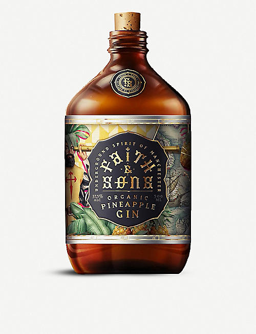 GIN: Faith & Sons pineapple gin 500ml
