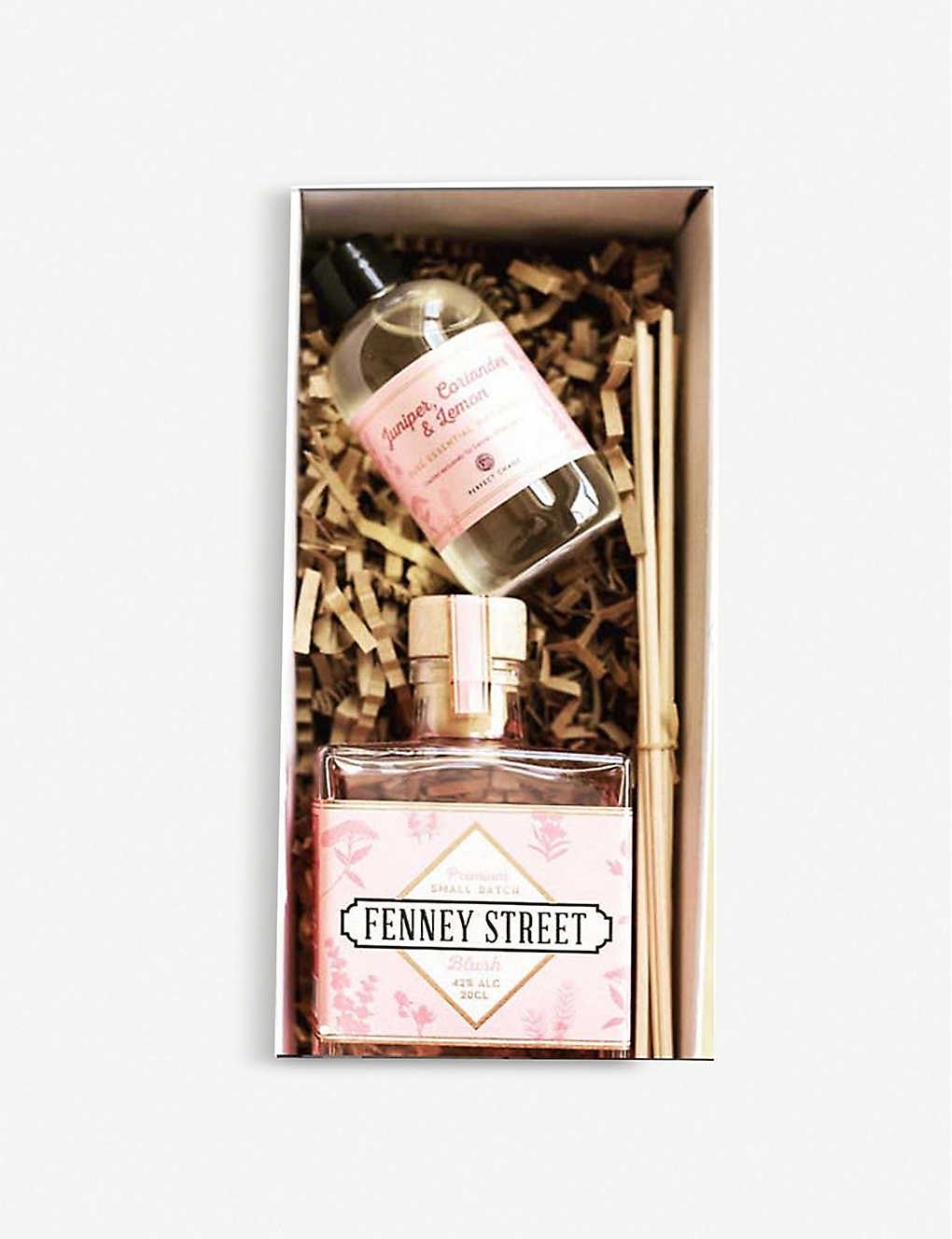 GIN: Fenney Street Blush Gin and fragrance diffuser gift set 200ml
