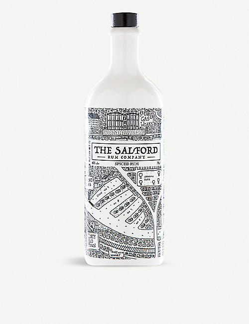 RUM: The Salford Rum Company spiced rum 700ml