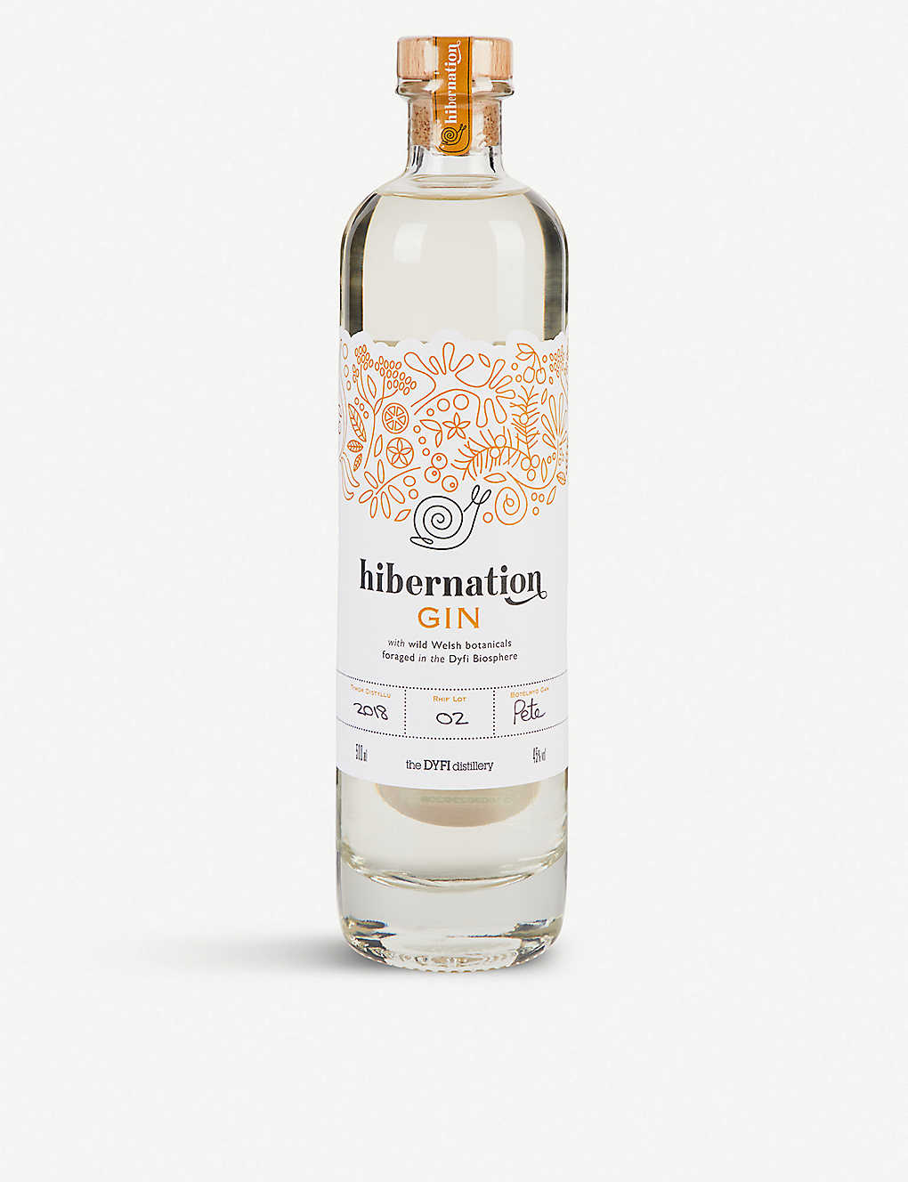 GIN: Dyfi Distillery Hibernation gin 700ml