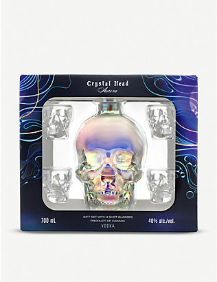 CRYSTAL HEAD VODKA: Aurora vodka gift set