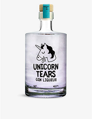 GIN: Firebox Unicorn Tears gin 50ml