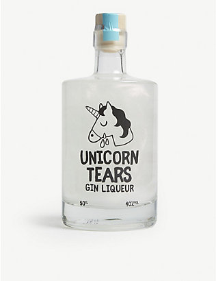GIN: Unicorn tears gin 500ml