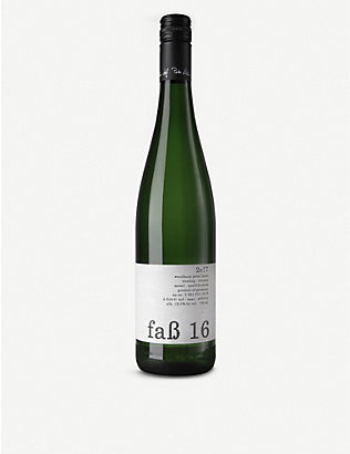 GERMANY: Peter Lauer Fass 2016 riesling 750ml