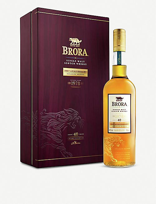 BRORA: Brora 40-year-old single malt Scotch whisky 700ml