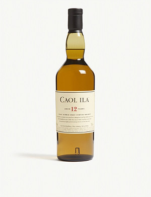 WHISKY AND BOURBON Caol Ila 12-year-old single malt Scotch whisky 700ml