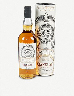 WHISKY AND BOURBON Clynelish Reserve Game of Thrones House Tyrell single malt Scotch whisky 700ml