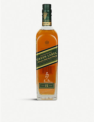 JOHNNIE WALKER: Green Label 15-year-old blended Scotch whisky 700ml