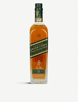 JOHNNIE WALKER Green Label 15-year-old blended Scotch whisky 700ml